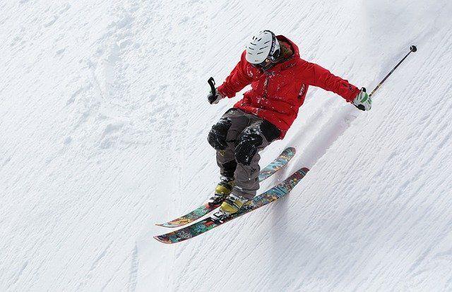 Promocionar tienda de deporte, esquiar