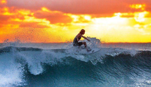 Promocionar tienda de deporte, surf